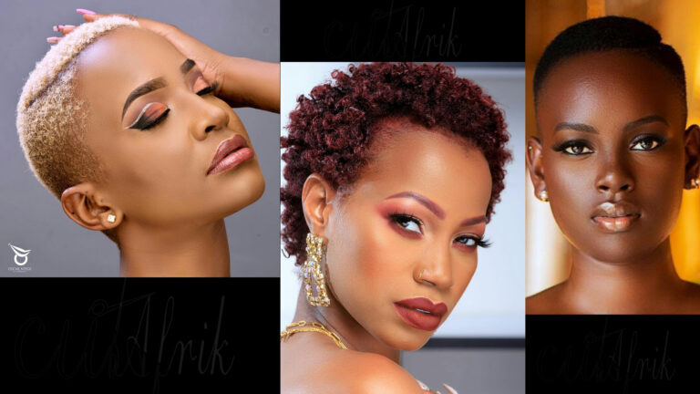 Trendy Afro Short Hairstyles in Uganda 2021