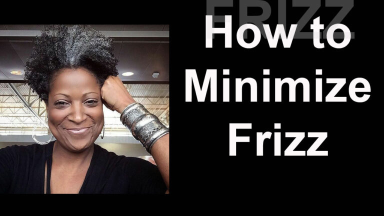 How to Minimize Frizz in Your Twist Out