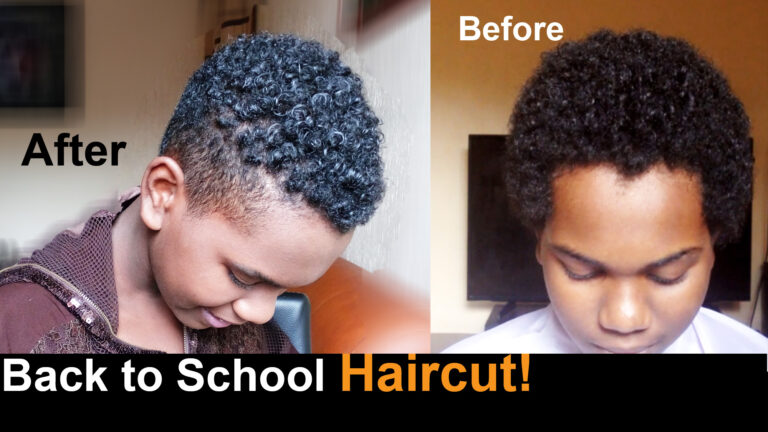 Afro Make Over Haircuts at Home