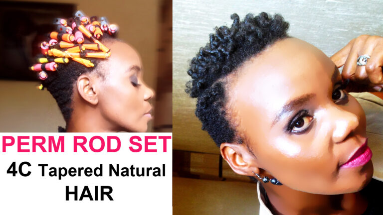 How to Do a Perm Rod Hairstyle on Short Hair