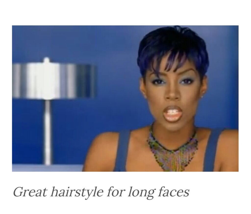 Great pixie cut for long face shape